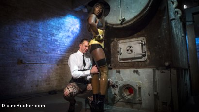 Photo number 2 from Fashion Model Ana Foxxx Turns Will Havoc Into Her Plaything shot for Divine Bitches on Kink.com. Featuring Ana Foxxx and Will Havoc in hardcore BDSM & Fetish porn.