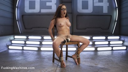 Photo number 4 from Roxanne Rae is Tied Up and Tormented with Anal Orgasms shot for Fucking Machines on Kink.com. Featuring Roxanne Rae in hardcore BDSM & Fetish porn.