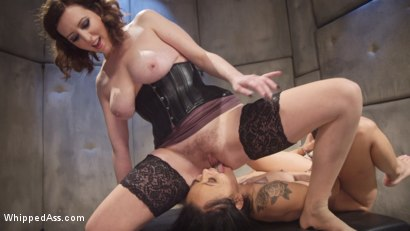 Photo number 19 from Anal Asylum: Horny Nympho Patient Meets Equally Perverted Lesbian Doctor shot for Whipped Ass on Kink.com. Featuring Holly Hendrix and Cherry Torn in hardcore BDSM & Fetish porn.