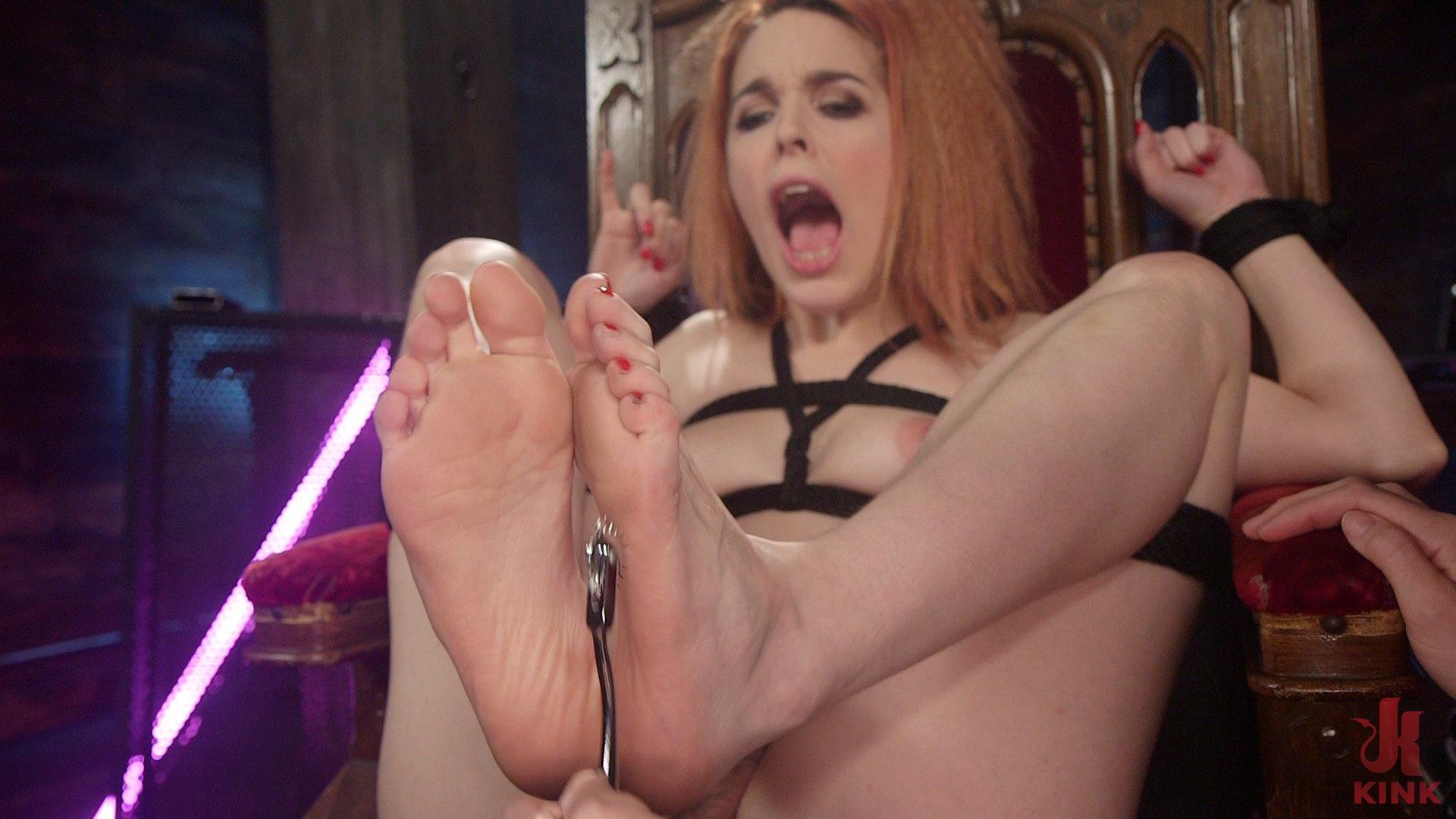 Photo number 1 from Giggles, Screams, & Shocks: Amarna Miller Returns shot for Electro Sluts on Kink.com. Featuring Amarna Miller and Chanel Preston in hardcore BDSM & Fetish porn.