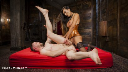 Photo number 9 from Her Willing Slave shot for TS Seduction on Kink.com. Featuring Mike Panic and Venus Lux in hardcore BDSM & Fetish porn.