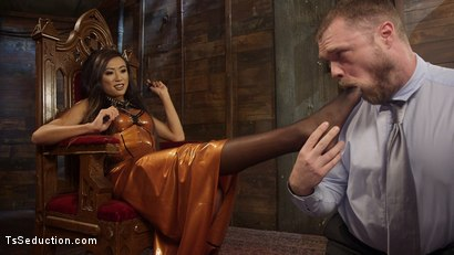 Photo number 11 from Her Willing Slave shot for TS Seduction on Kink.com. Featuring Mike Panic and Venus Lux in hardcore BDSM & Fetish porn.