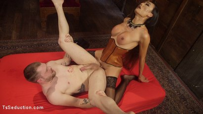 Photo number 17 from Her Willing Slave shot for TS Seduction on Kink.com. Featuring Mike Panic and Venus Lux in hardcore BDSM & Fetish porn.
