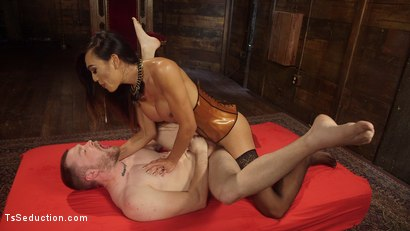Photo number 19 from Her Willing Slave shot for TS Seduction on Kink.com. Featuring Mike Panic and Venus Lux in hardcore BDSM & Fetish porn.