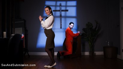 Photo number 1 from Anal Baptism shot for Sex And Submission on Kink.com. Featuring Tommy Pistol and Casey Calvert in hardcore BDSM & Fetish porn.