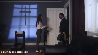 Photo number 4 from Anal Baptism shot for Sex And Submission on Kink.com. Featuring Tommy Pistol and Casey Calvert in hardcore BDSM & Fetish porn.