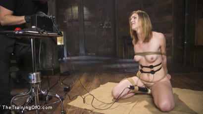 Photo number 7 from Speech Training an Anal Slut: Ella Nova shot for The Training Of O on Kink.com. Featuring Ella Nova  and Tommy Pistol in hardcore BDSM & Fetish porn.