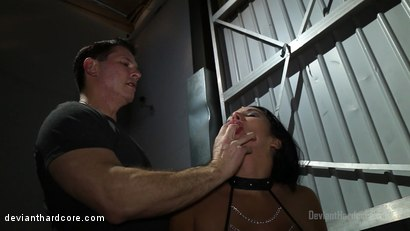 Photo number 6 from Brandy Aniston's Oral Chamber: Missy Martinez, John Strong shot for Deviant Hardcore on Kink.com. Featuring Missy Martinez and John Strong in hardcore BDSM & Fetish porn.