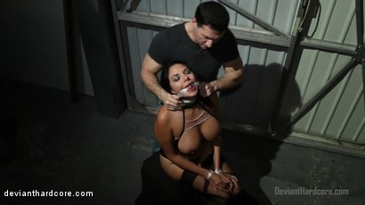 Photo number 7 from Brandy Aniston's Oral Chamber: Missy Martinez, John Strong shot for Deviant Hardcore on Kink.com. Featuring Missy Martinez and John Strong in hardcore BDSM & Fetish porn.