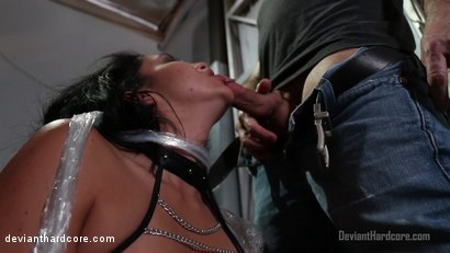 Photo number 8 from Brandy Aniston's Oral Chamber: Missy Martinez, John Strong shot for Deviant Hardcore on Kink.com. Featuring Missy Martinez and John Strong in hardcore BDSM & Fetish porn.