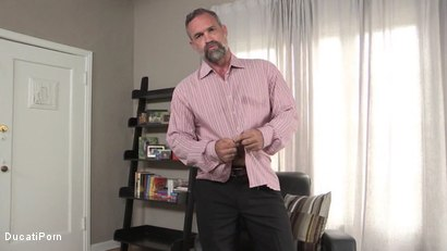 Photo number 2 from Walk In Closet: Peter Rough shot for Gentlemens Closet on Kink.com. Featuring  in hardcore BDSM & Fetish porn.