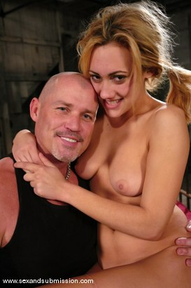 Photo number 15 from Gwen Diamond shot for Sex And Submission on Kink.com. Featuring Mark Davis and Gwen Diamond in hardcore BDSM & Fetish porn.