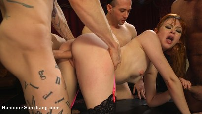 Photo number 16 from Alexa Nova in Bachelor Party Pandemonium shot for Hardcore Gangbang on Kink.com. Featuring Alexa Nova, Ramon Nomar, Owen Gray, Mark Wood, Damon Dice and Tarzan in hardcore BDSM & Fetish porn.
