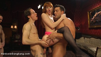 Photo number 17 from Alexa Nova in Bachelor Party Pandemonium shot for Hardcore Gangbang on Kink.com. Featuring Alexa Nova, Ramon Nomar, Owen Gray, Mark Wood, Damon Dice and Tarzan in hardcore BDSM & Fetish porn.
