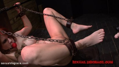 Photo number 16 from Velma DeArmond's Small Pussy Takes Huge Cock shot for Sexual Disgrace on Kink.com. Featuring  in hardcore BDSM & Fetish porn.
