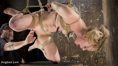 Photo number 2 from Suspension Slut Anna Tyler Succumbs to Squirting Orgasms shot for Hogtied on Kink.com. Featuring Anna Tyler in hardcore BDSM & Fetish porn.