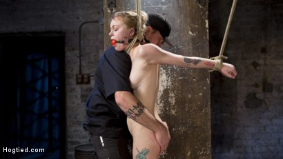 Photo number 11 from Suspension Slut Anna Tyler Succumbs to Squirting Orgasms shot for Hogtied on Kink.com. Featuring Anna Tyler in hardcore BDSM & Fetish porn.