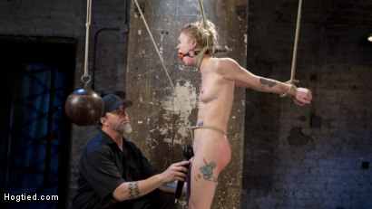 Photo number 15 from Suspension Slut Anna Tyler Succumbs to Squirting Orgasms shot for Hogtied on Kink.com. Featuring Anna Tyler in hardcore BDSM & Fetish porn.