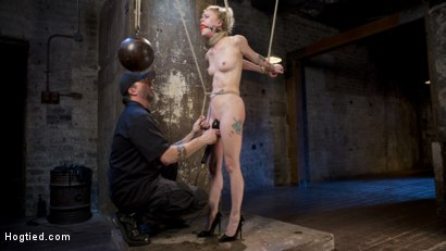 Photo number 17 from Suspension Slut Anna Tyler Succumbs to Squirting Orgasms shot for Hogtied on Kink.com. Featuring Anna Tyler in hardcore BDSM & Fetish porn.