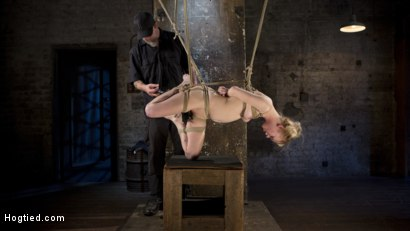Photo number 18 from Suspension Slut Anna Tyler Succumbs to Squirting Orgasms shot for Hogtied on Kink.com. Featuring Anna Tyler in hardcore BDSM & Fetish porn.