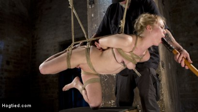 Photo number 22 from Suspension Slut Anna Tyler Succumbs to Squirting Orgasms shot for Hogtied on Kink.com. Featuring Anna Tyler in hardcore BDSM & Fetish porn.