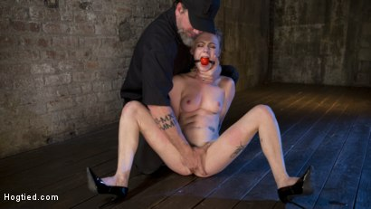 Photo number 9 from Suspension Slut Anna Tyler Succumbs to Squirting Orgasms shot for Hogtied on Kink.com. Featuring Anna Tyler in hardcore BDSM & Fetish porn.