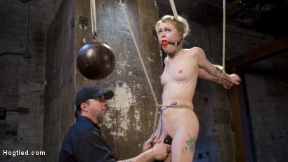 Photo number 16 from Suspension Slut Anna Tyler Succumbs to Squirting Orgasms shot for Hogtied on Kink.com. Featuring Anna Tyler in hardcore BDSM & Fetish porn.