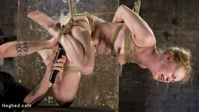 Photo number 24 from Suspension Slut Anna Tyler Succumbs to Squirting Orgasms shot for Hogtied on Kink.com. Featuring Anna Tyler in hardcore BDSM & Fetish porn.