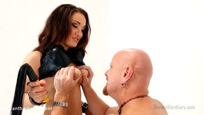 Photo number 1 from StrapDomme: Gabriella Paltrova, Tom Moore shot for Deviant Hardcore on Kink.com. Featuring Gabriella Paltrova and Tom Moore in hardcore BDSM & Fetish porn.
