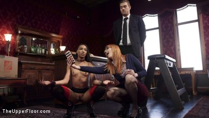 Photo number 14 from Off The Record: Anal Media Whore Gets Her Story shot for The Upper Floor on Kink.com. Featuring Xander Corvus, Nikki Darling and Lauren Phillips in hardcore BDSM & Fetish porn.