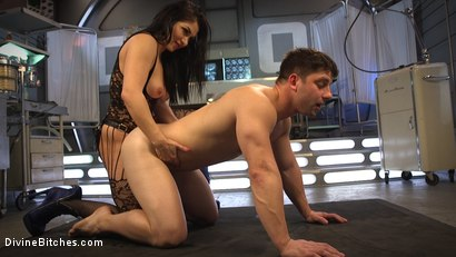 Photo number 19 from Lea Lexis Presents Her Futuristic Medical Fetish Dungeon shot for Divine Bitches on Kink.com. Featuring Lea Lexis and Rick Fantana in hardcore BDSM & Fetish porn.