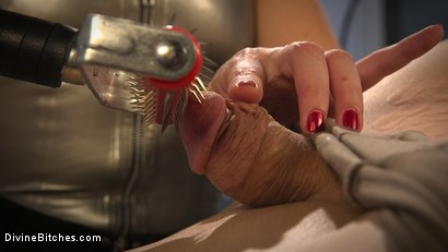 Photo number 9 from Lea Lexis Presents Her Futuristic Medical Fetish Dungeon shot for Divine Bitches on Kink.com. Featuring Lea Lexis and Rick Fantana in hardcore BDSM & Fetish porn.