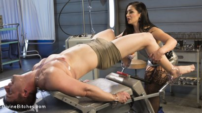 Photo number 2 from Lea Lexis Presents Her Futuristic Medical Fetish Dungeon shot for Divine Bitches on Kink.com. Featuring Lea Lexis and Rick Fantana in hardcore BDSM & Fetish porn.
