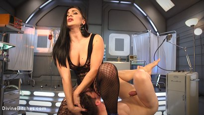 Photo number 13 from Lea Lexis Presents Her Futuristic Medical Fetish Dungeon shot for Divine Bitches on Kink.com. Featuring Lea Lexis and Rick Fantana in hardcore BDSM & Fetish porn.