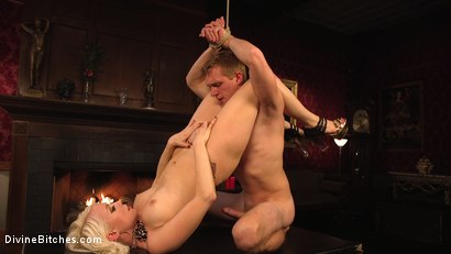 Photo number 17 from Lorelei Lee's Pleasure of the Divine Bitches shot for Divine Bitches on Kink.com. Featuring Lorelei Lee and Zane Anders in hardcore BDSM & Fetish porn.