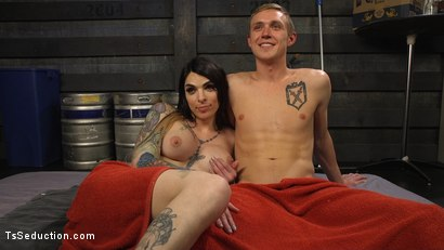 Photo number 22 from Hot Tattooed Bartender Ts Chelsea Marie Serves It Hard To Horny Patron shot for TS Seduction on Kink.com. Featuring Chelsea Marie and Zane Anders in hardcore BDSM & Fetish porn.