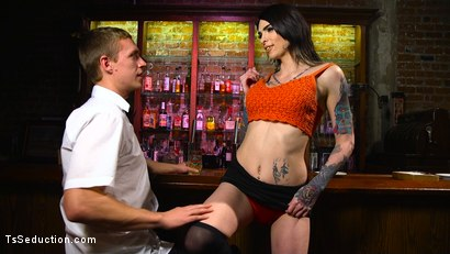 Photo number 1 from Hot Tattooed Bartender Ts Chelsea Marie Serves It Hard To Horny Patron shot for TS Seduction on Kink.com. Featuring Chelsea Marie and Zane Anders in hardcore BDSM & Fetish porn.
