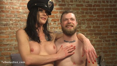 Photo number 19 from EMT Takes Morgan Bailey's BFD shot for TS Seduction on Kink.com. Featuring Mike Panic and Morgan Bailey in hardcore BDSM & Fetish porn.