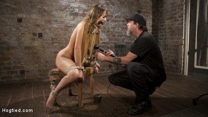 Photo number 13 from Charlotte's Caught in a Web of Bondage and Tormented shot for Hogtied on Kink.com. Featuring Charlotte Cross and The Pope in hardcore BDSM & Fetish porn.