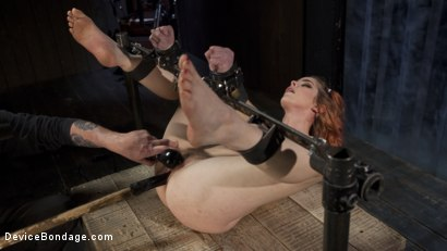 Photo number 1 from Used and Left Behind shot for Device Bondage on Kink.com. Featuring Amarna Miller and The Pope in hardcore BDSM & Fetish porn.
