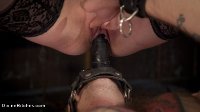 Photo number 8 from The Perfect Slave For Perfect Service shot for Divine Bitches on Kink.com. Featuring Will Havoc and Bella Rossi in hardcore BDSM & Fetish porn.