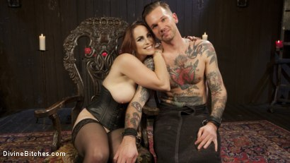 Photo number 14 from The Perfect Slave For Perfect Service shot for Divine Bitches on Kink.com. Featuring Will Havoc and Bella Rossi in hardcore BDSM & Fetish porn.