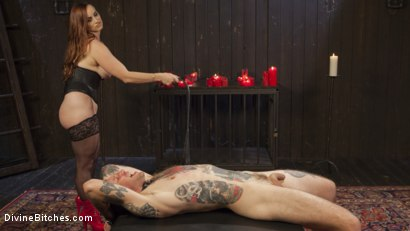 Photo number 4 from The Perfect Slave For Perfect Service shot for Divine Bitches on Kink.com. Featuring Will Havoc and Bella Rossi in hardcore BDSM & Fetish porn.