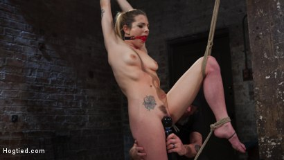 Photo number 10 from Casey and Dahlia Suffer Together in Brutal Bondage shot for Hogtied on Kink.com. Featuring Casey Calvert , Dahlia Sky and The Pope in hardcore BDSM & Fetish porn.