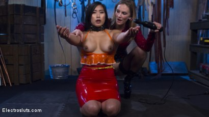 Photo number 15 from Mona Wales Breaks in Electro-Pet Mia Li shot for Electro Sluts on Kink.com. Featuring Mona Wales and Mia Little in hardcore BDSM & Fetish porn.