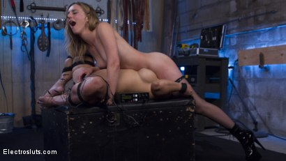 Photo number 13 from Mona Wales Breaks in Electro-Pet Mia Li shot for Electro Sluts on Kink.com. Featuring Mona Wales and Mia Li in hardcore BDSM & Fetish porn.