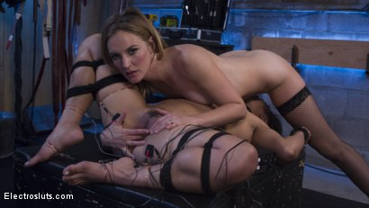 Photo number 9 from Mona Wales Breaks in Electro-Pet Mia Li shot for Electro Sluts on Kink.com. Featuring Mona Wales and Mia Li in hardcore BDSM & Fetish porn.