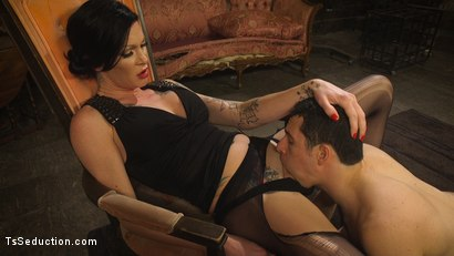 Photo number 11 from Transexual Mommy Dearest shot for TS Seduction on Kink.com. Featuring Morgan Bailey and Corbin Dallas in hardcore BDSM & Fetish porn.
