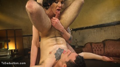 Photo number 4 from Transexual Mommy Dearest shot for TS Seduction on Kink.com. Featuring Morgan Bailey and Corbin Dallas in hardcore BDSM & Fetish porn.
