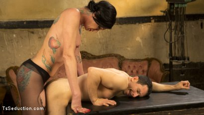 Photo number 12 from Transexual Mommy Dearest shot for TS Seduction on Kink.com. Featuring Morgan Bailey and Corbin Dallas in hardcore BDSM & Fetish porn.
